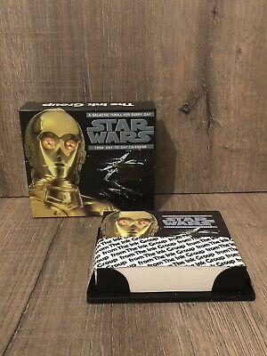 Star Wars Calendar 1999 Day To Day Vintage Collectible Brand New