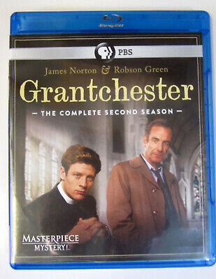 BLU GRANTCHESTER: Season 2 (2016 PBS Masterpiece Mystery!) 2-Discs Very Good+