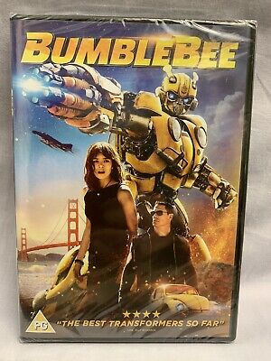 Bumblebee DVD - Transformers 2019 - Brand New & Sealed