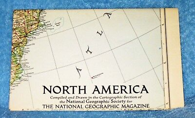 NATIONAL GEOGRAPHIC MAPS. LOT OF 18 FROM THE 1930's to 1970's
