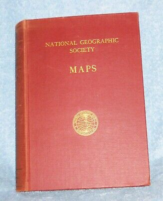 NATIONAL GEOGRAPHIC MAPS, LOT of 18, Various Years in Map Case
