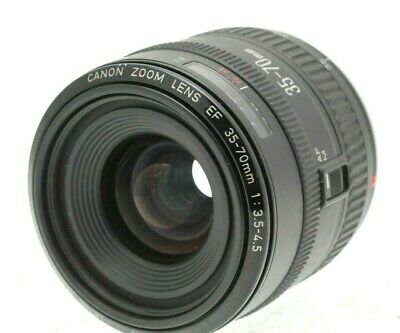 CANON EF 35-70mm Zoom for EOS Film and Digital SLR's - Metal Mount
