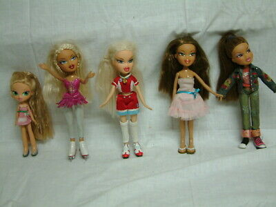 5 Barbie Puppen TM & MGA voll beweglich  coole Ladies  Dolls