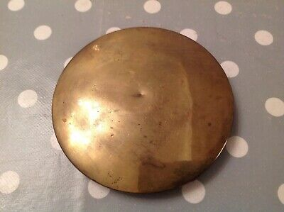 Antique Pendulum Bob Brass Clad Cast Iron 426g 115mm Diameter For Wood Rod