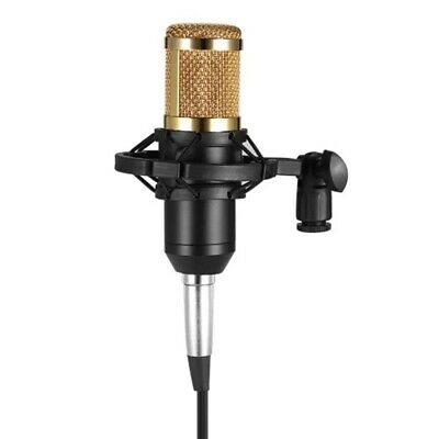 Bm800 Condenser Microphone Studio Sound Recording Broadcasting With Shock Mount