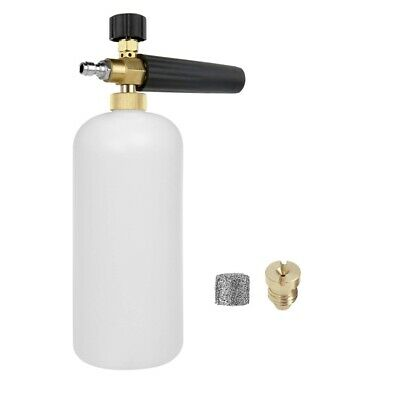 Pressure Washer Snow Foam Lance,Foam Cannon,Foam Maker Mesh Filter,Orifice Nozzl