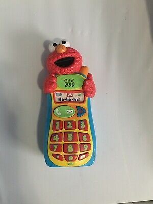 Mattel Sesame Street Elmo Knows Your Name Cell Phone Interactive Toy