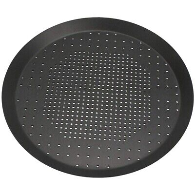 Pizza Baking Pan, Nonstick Pizza Pan With Holes,Steel Round Crispy Crust Pizza O