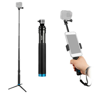 TELESIN Handheld Extendable Selfie Stick Monopod Aluminum Alloy Adjustable Z7R2