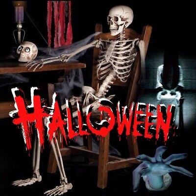90CM Halloween Party Decoration Poseable Human Full Size Prop Skull Skeleton