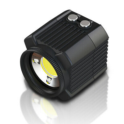Mini Rechargeable LED Video Light Diving Photography Lamp Underwater 60M F9A4