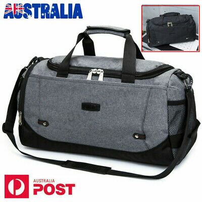 AU Travel Duffel Bag Large Foldable Sports Gym Duffle Big Bag Luggage Bag 35L AU