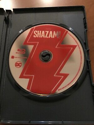 SHAZAM! (2019, BLU-RAY Only ) Never Watched Mint Condition
