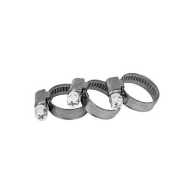 100 Pcs. Hose Clamps 40-60mm, W2 Band Clamps Hose Clip Clamp Rings