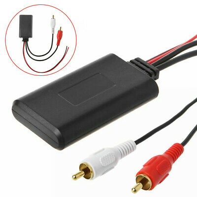 Car Stereo bluetooth 2RCA AUX IN Input Wireless Cable Adapter Connector