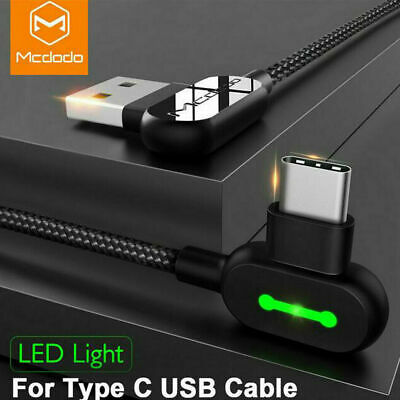 Mcdodo Type-C USB Fast Charger Cable Cord Samsung S9 Note10 S8 S10 Plus AU STOCK