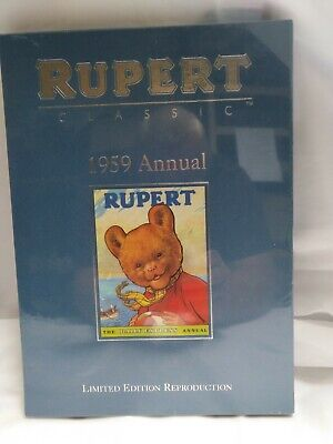 Rupert Classic 1959 Annual (Limited Edition Reproduction)