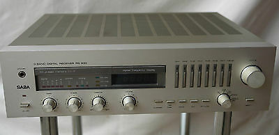 Curate Pesante Saba RS930 3-Band Digitale Hifi Ricevitore RS-930 in Champagne