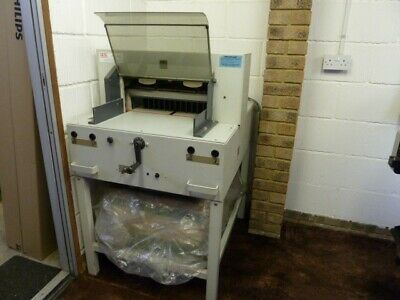 """Ideal 4850 (18"""") Guillotine and two spare blades"""