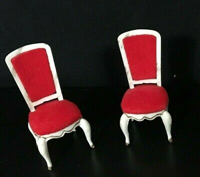 Vintage 1964 Petite Princess Fantasy Furniture Hostess Dining Chairs Mint Cond