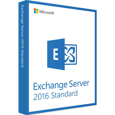 MS Exchange Server 2016 Standard Product Key  - Instant Delivery