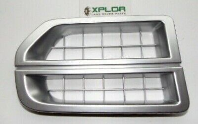 Genuine Land Rover Discovery 3 Bright Finish Air Inlet Grille Jak000065Mmm