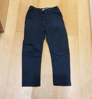 Boys Next Navy Trousers. Age 9
