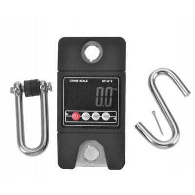 300KG Electronic Industrial Crane Portable Hanging LCD Weight Hook Scale Y4D8