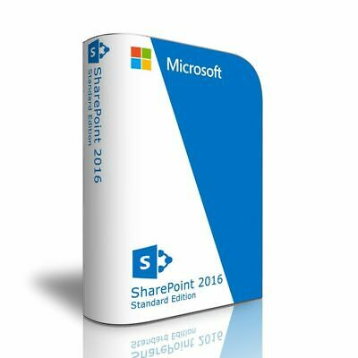 MS SharePoint Server 2016 Standard Product Key - Instant Delivery