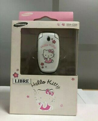Móvil / Mobile Samsung SGH-C520 Hello Kitty NEW!!!! Never used! Unlocked