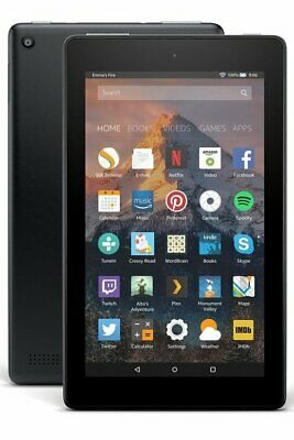 Amazon All New Kindle Fire 7 Tablet with Alexa 16GB Black - 2019 MODEL