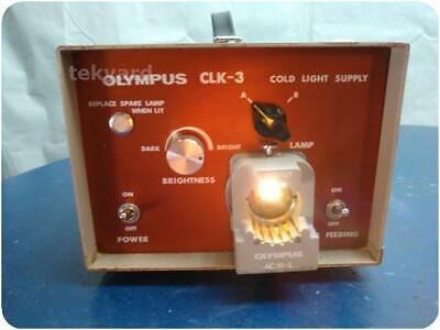 Olympus Clk-3 Cold Light Supply @ (228981)