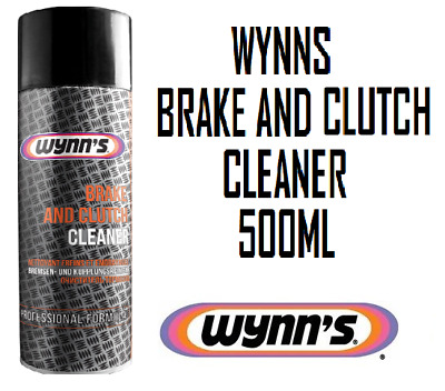 Wynns Brake And Clutch Cleaner Degreaser Oil Dirt Remover Aerosol 500ml