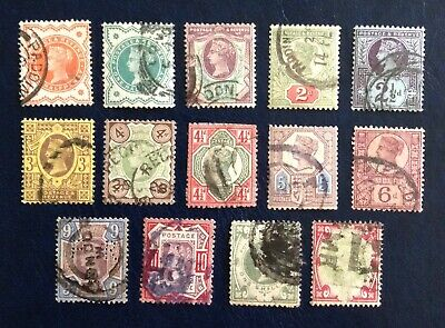 """1887-1900 - Complete """"Jubilee Issue"""" Used Set"""