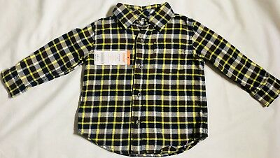 Baby Toddler Boys Plaid shirt from Gymboree 18-24 Months