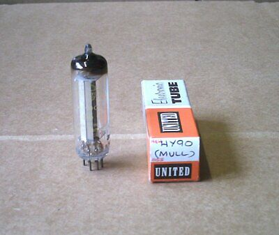 Hy90 (35W4) Rectifier Valve/Tube Mullard Tests 100%+