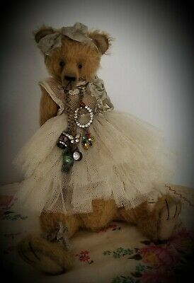 "Timeless Bears  'Willow' 11"" Artist Mohair Teddy Bear"