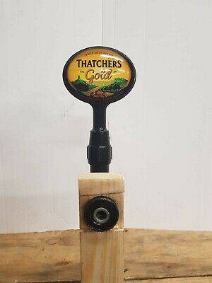 Thatchers Gold Cider Beer Pump Or T Bar Tap And Handle