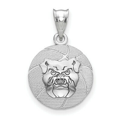 Logoart Sterling Silver Gp Butler University Leather Attachment