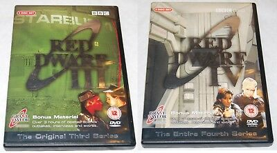 RED DWARF ~ SERIES 3 and 4 ~ Complete (DVD, 2003,2004)
