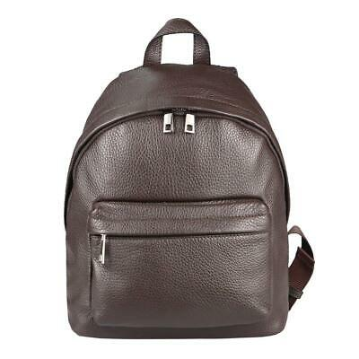 ITAL Zaino da donna pelle zaino backpack City in Vera Pelle Taupe Zaino 855t