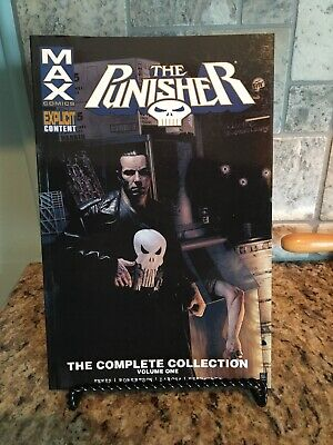 Marvel Comic MAX The Punisher The Complete Collection Volume One Explicit