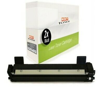 2x MWT Cartuccia Compatibile per Brother MFC-1910 HL-1212 DCP-1512 DCP-1510
