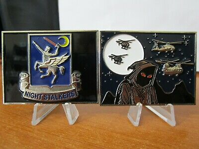 160th Special Operations Aviation RGT US Army SOAR Night Stalkers Challenge Coin