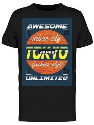 Awesome Tokyo Japan Men's Tee -Image by Shutterstock