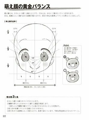 New How to Draw Moe Character Basic Pose Sketch Book manga Anime from Japan