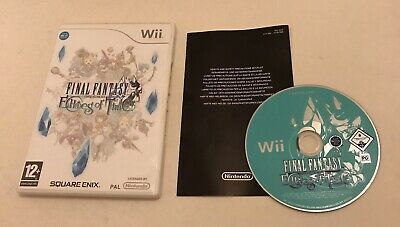 Final Fantasy Crystal Chronicles Echoes of Time Nintendo Wii Boxed PAL