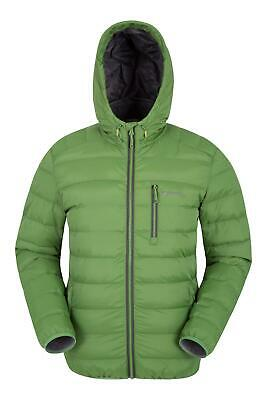 Mountain Warehouse Mens Lightweight Padded Jacket Water-Resistant Fabric