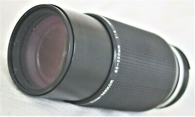 Nikon Zoom-Nikkor 80-200mm f/4.5 Ai-s Lens As-Is / Needs to have fixed