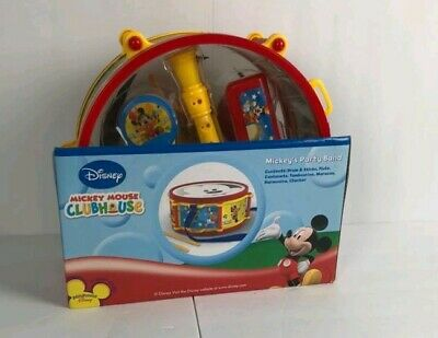 Disney Junior Mickey Mouse Clubhouse 10 Piece Set Party Band